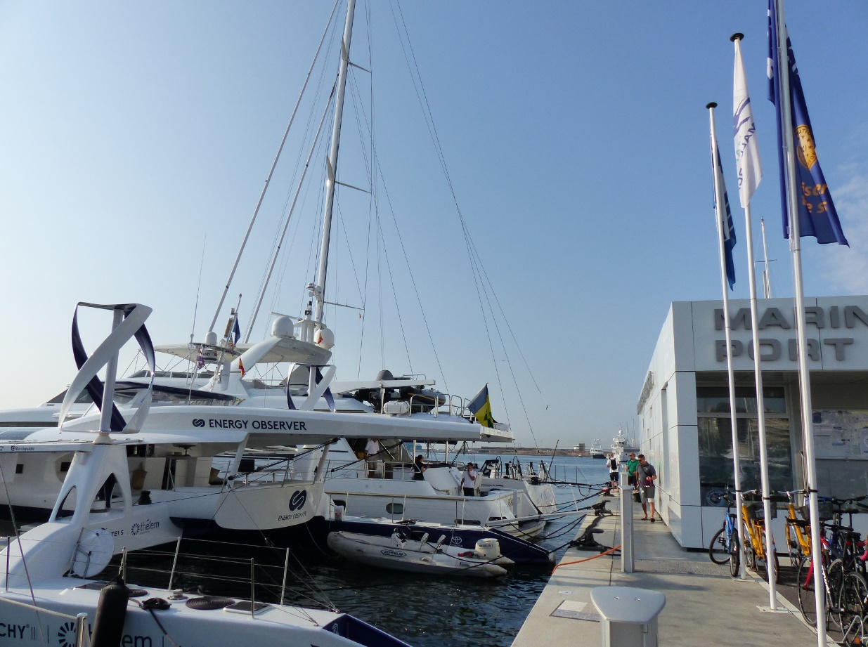 Marina Port de Mallorca welcomes Energy Observer in support of its expedition to combat climate change