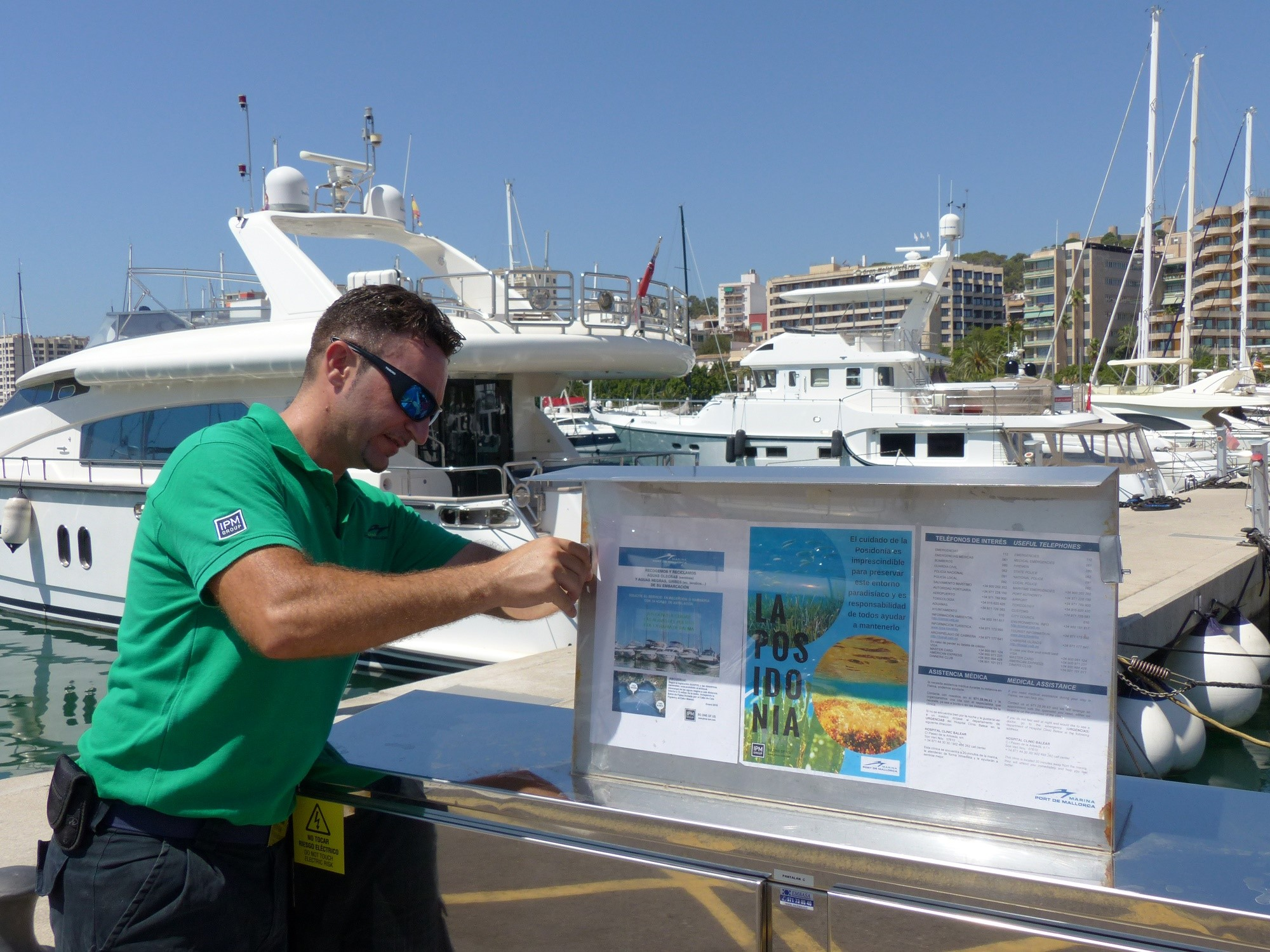 Marina Port de Mallorca and  Marina Palma Cuarentena launch a new environmental campaign