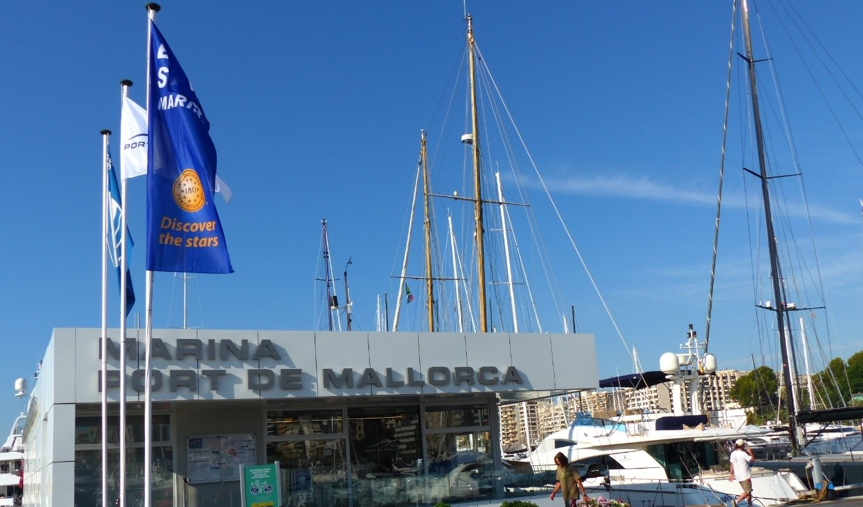 Marina Port de Mallorca, the only port in Mallorca that achieves the category of 5 Stars Marina