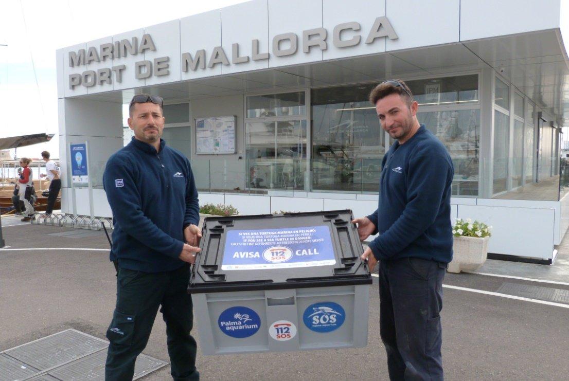 Marina Port de Mallorca renews its animal protection agreement with the Palma Aquarium Foundation