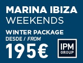 Marina Ibiza Weekends - Winter Package
