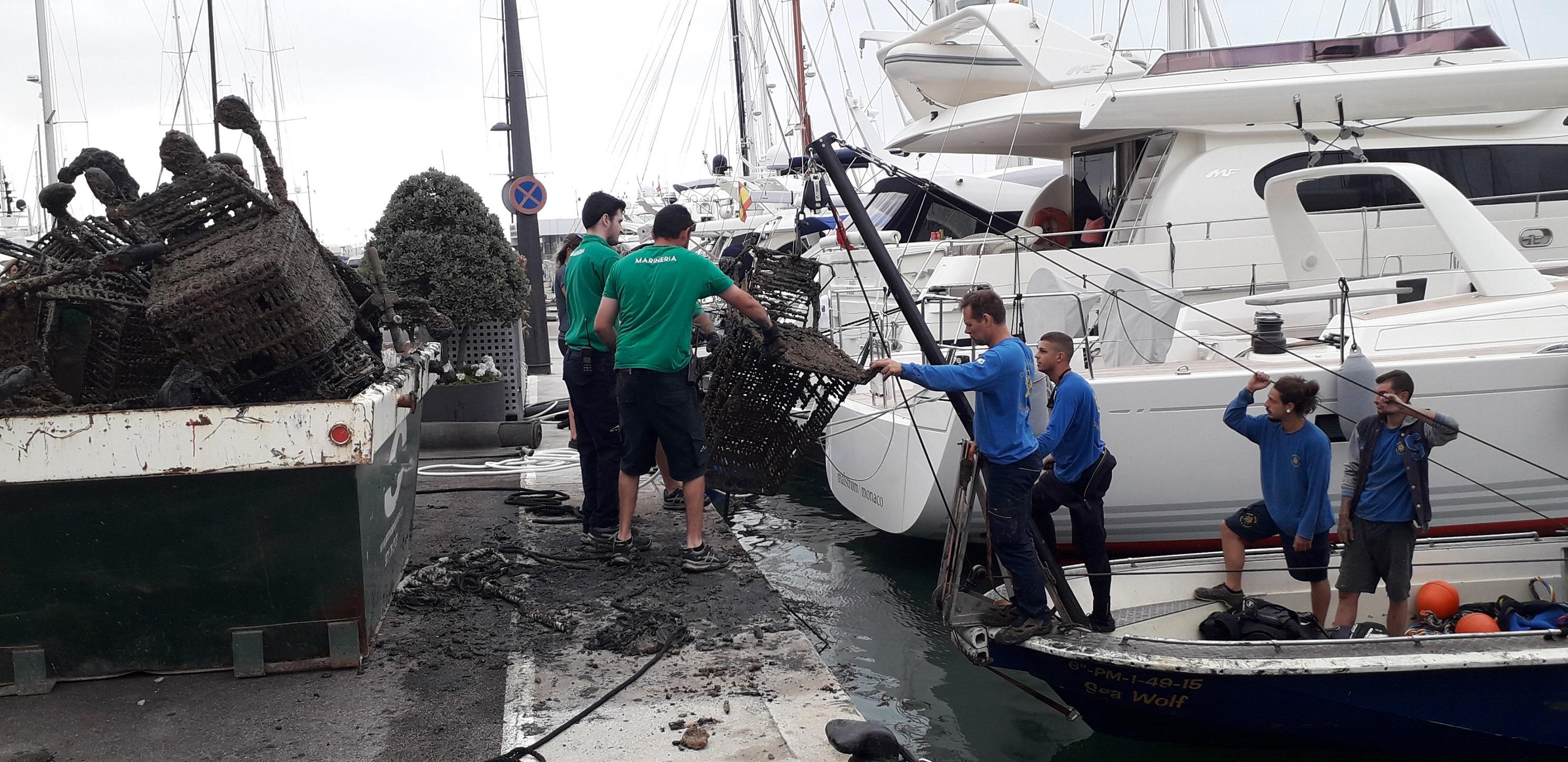 marina-port-de-mallorca-y-marina-palma-cuarentena-declaran-la-guerra-a-los-desechos-que-se-esconden-bajo-el-mar