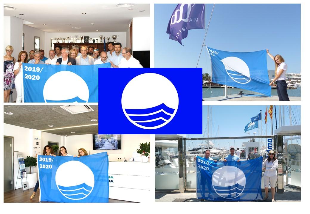 la-bandera-azul-se-iza-de-nuevo-en-marina-port-de-mallorca,-marina-palma-cuarentena-y-marina-ibiza