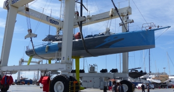 STP Shipyard Palma collaborates in the fine tunning of Didac Costa's One Planet One Ocean for Vendée Globe