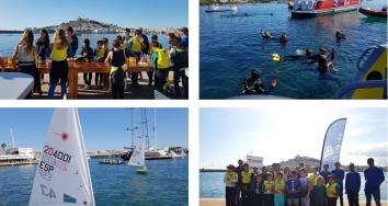 Se celebra la 4ª Edición de la Regata Infantil Medioambiental Marina Ibiza