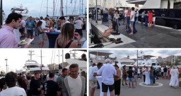 Marina Port de Mallorca y  Marina Palma Cuarentena despiden la temporada con una barbacoa para clientes