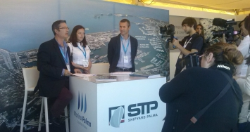 STP Shipyard Palma presented the 4th edition of its courses for Captains, and the new STP News magazine in an opening cocktail in its stand at the Palma Superyacht Show