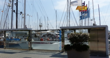 New environmental action at Marina Palma Cuarentena