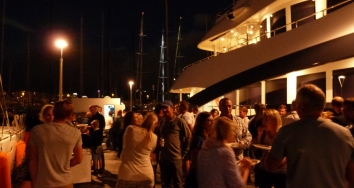 Summer farewell party at  Marina Palma Cuarentena