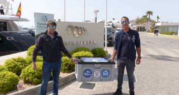 Marina Ibiza goes to the rescue of endangered sea turtles