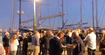 Marina Port de Mallorca celebra el fin de la temporada de una forma solidaria