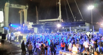 STP Shipyard Palma held a fundraising party to help  Sant Llorenç