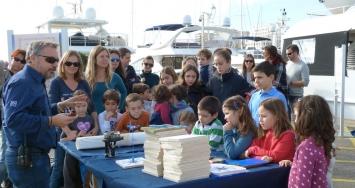 Children take Marina Port de Mallorca to enjoy a fun day