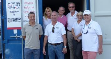STP Shipyard Palma colabora con Yachting Gives Back ofreciendo un espacio en sus instalaciones