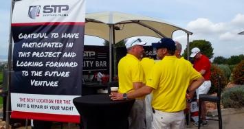 STP Shipyard Palma se despide del Pinmar Golf Tournament
