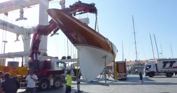 Los centenarios Mini Clase J eligen  STP Shipyard Palma como base  de su puesta a punto