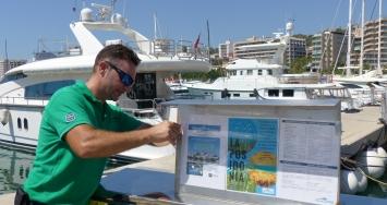 Marina Port de Mallorca and  Marina Palma Cuarentena launch a new environmental campaign