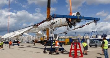 An unprecedented dismasting: 82 meters of S/Y KOKOMO's mast