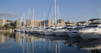 The Blue Flag will continue waving in  Marina Port de Mallorca and  Marina Palma Cuarentena