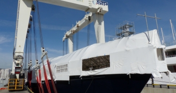 The standard of customer service in  STP Shipyard rises to the maximum level
