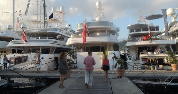 Visit to Antigua Yacht Charter Show 2014