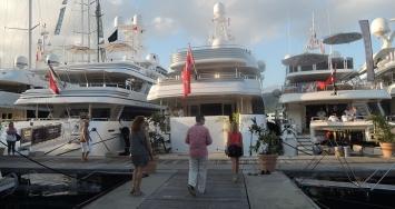 Visita al Antigua Charter Yacht Show 2014