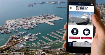 STP Shipyard Palma presents new app to request services in an agile and simple way