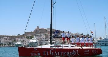 Marina Ibiza patrocina al barco El Gaitero para la Copa del Rey