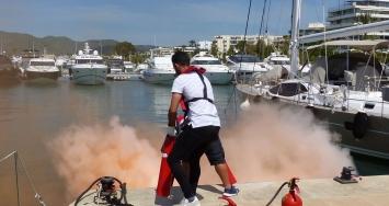 Marina Ibiza más que preparada para cualquier tipo de emergencia