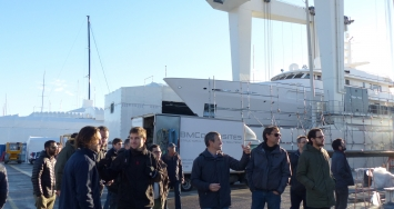 "STP Shipyard Palma collaborates with the ""Master in Nautical Industry"" taught by the UIB"