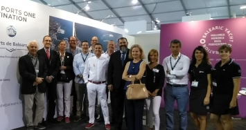 STP Shipyard Palma and Marina Ibiza,  two of the most international brands of IPM Group, present in FLIBS