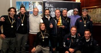Gran final del II Trofeo Varadero Valencia con victoria para Aquarelle, Majoche, Blue Lizard y Strategos