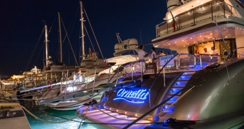 M/Y Ornella was presented in Marina Ibiza