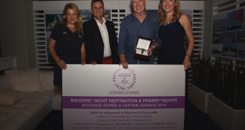 Balearic Yacht Destination participa en el evento de Fraser Yachts en FLIBS 'Captain of the Year'