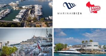 Marina Ibiza colabora con Kick Out Plastic, la Fundación que lucha por un mundo sin plástico de un solo uso.
