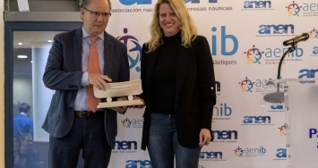 STP Shipyard Palma receives an AENIB award for its professional career