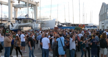 Great refit season opening party at STP Shipyard Palma