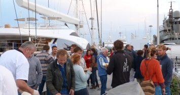 Gastronomic – environmental event at Marina Palma Cuarentena