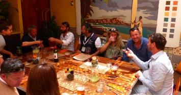 Varadero Valencia organizó una divertida comida para capitanes durante el Palma Superyacht Show